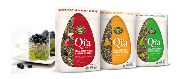 Qi'a Superfood Cereal  coupon
