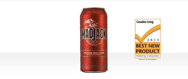 At The Beer Store: Buy 6: Mad Jack Premium Apple Lager Cans* coupon