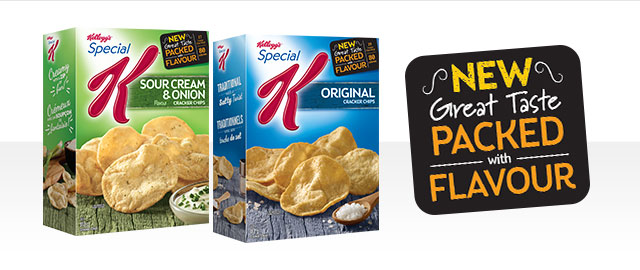 Special K* Cracker Chips coupon