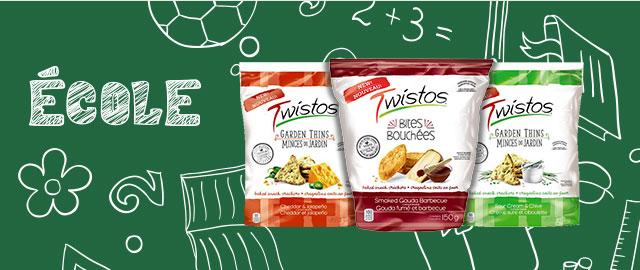 Craquelins collations Cuits au four Twistos® coupon