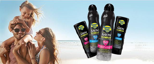 Banana Boat® For Men Triple Defence Sunscreen  coupon