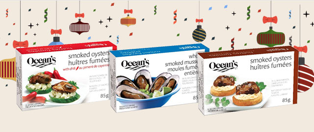 Buy 3: Ocean's Smoked Mussels or Oysters  coupon