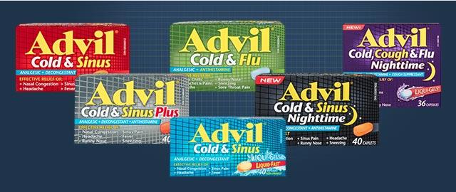 Advil® Cold & Sinus coupon
