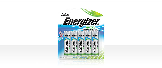 Energizer® EcoAdvanced® Batteries coupon