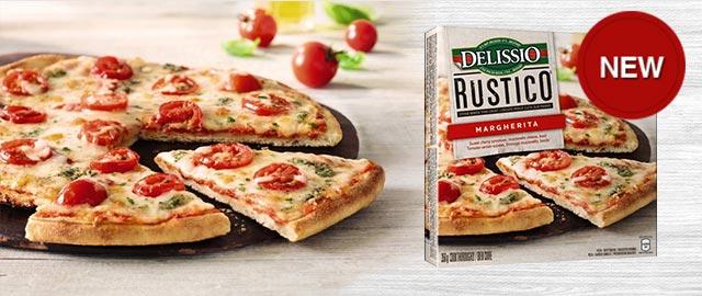 DELISSIO RUSTICO™ Frozen Pizza coupon
