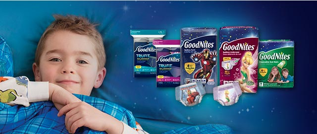 GoodNites® Bedtime products coupon