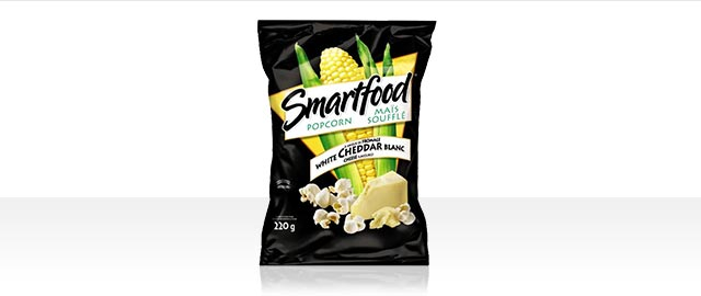 Smartfood®White Cheddar Cheese Flavour Popcorn coupon