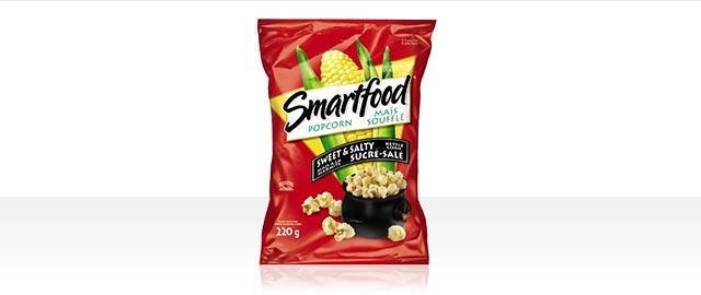 Smartfood®Sweet & Salty Flavour Kettle Corn Popcorn coupon