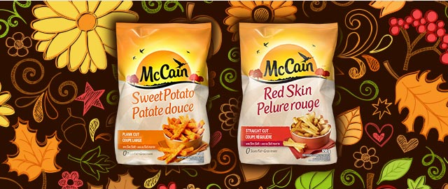 McCain® Red Skin or Sweet Potato products coupon