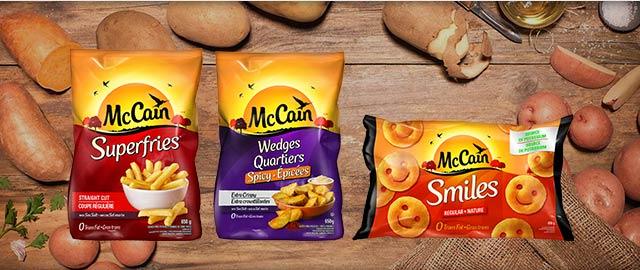 McCain® Potato Products coupon