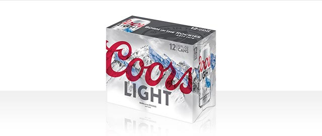 Coors Light 12-pack coupon