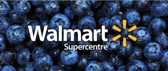 At Walmart: Blueberries coupon