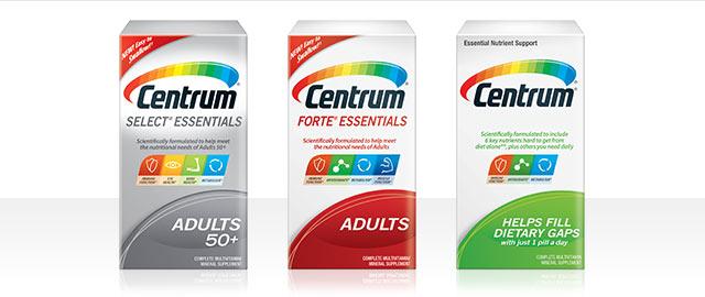 Centrum® Essentials coupon