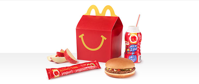 At McDonald's® in Walmart: Happy Meal® coupon