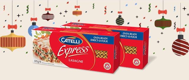 Buy 2: Catelli Express® pasta coupon
