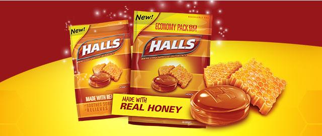 Buy 3: HALLS Bags coupon