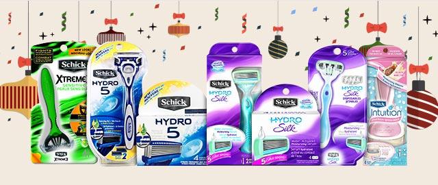 Schick razor or refill coupon