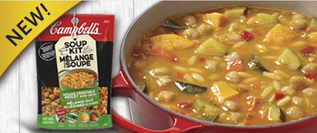 Campbell's® Spiced Vegetable Medley and Orzo Soup Kit coupon