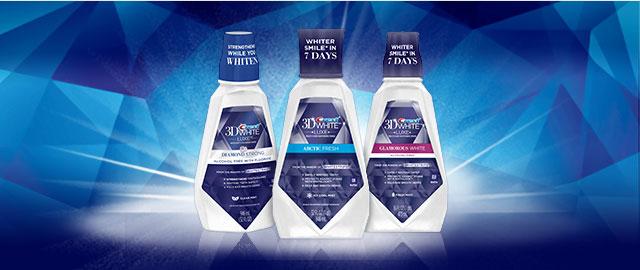 Crest® 3D White Mouthwash coupon