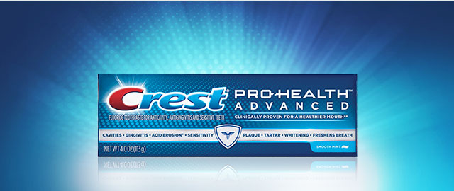 Crest® Pro-Health Toothpaste coupon