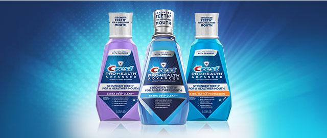 Crest® Pro-Health Mouthwash coupon