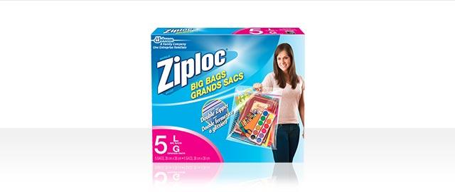 Ziploc® brand Big Bags coupon