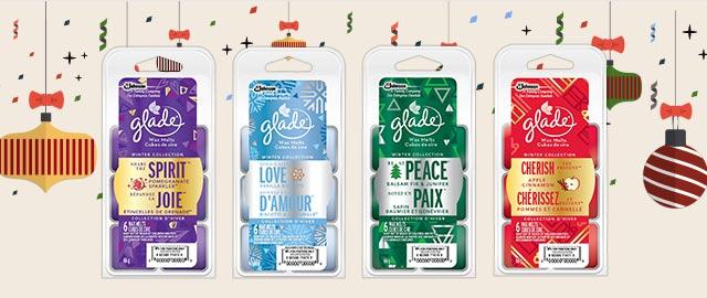 Select Glade® Wax Melt Refills  coupon
