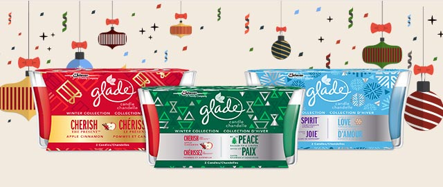 Select Glade® Candle 4 pack coupon