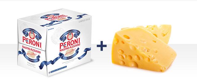 At Select Retailers Combo: Peroni Nastro Azzurro® and Cheese coupon