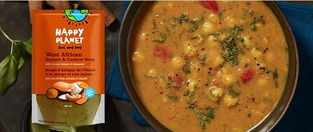 Happy Planet Fresh Soup Pouches coupon