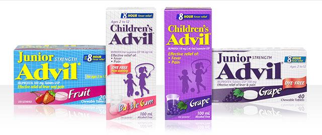 Children's Advil® coupon