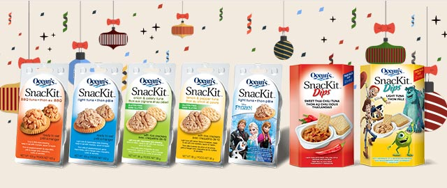 At Select Retailers: Ocean's® SnacKits and SnacKit Dips coupon