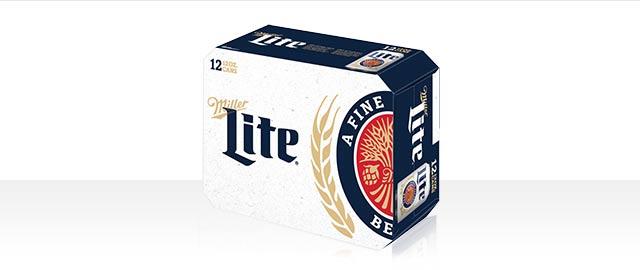 Miller Lite 12-pack or larger  coupon