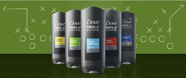 Dove Men+Care® body wash or bar coupon
