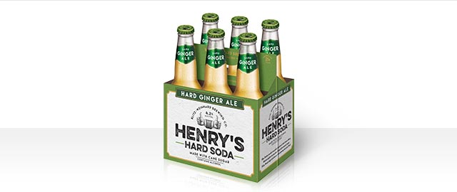 Henry's Hard Ginger Ale 6-pack coupon
