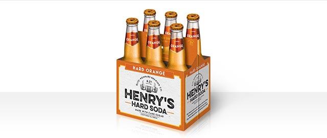 Henry's Hard Orange Ale 6-pack coupon