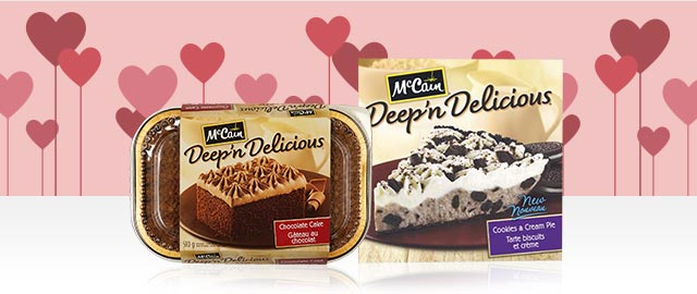 McCain® Deep 'n Delicious® Desserts  coupon