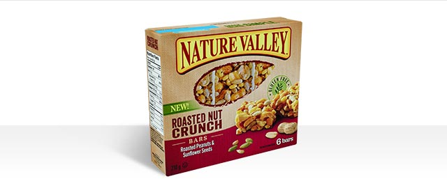 Nature Valley Roasted Nut Crunch bar coupon
