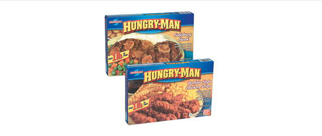 Hungry-Man frozen dinner coupon