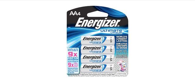 Energizer Ultimate Lithium coupon