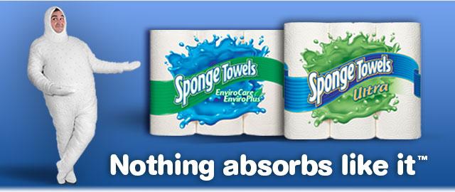 SpongeTowels® Paper Towel coupon