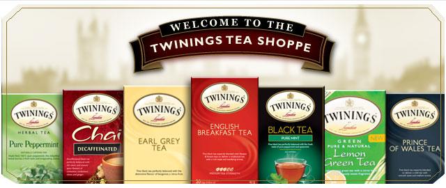 Twinings tea coupon