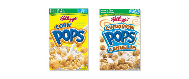 Kellogg's* Corn Pops* cereal coupon