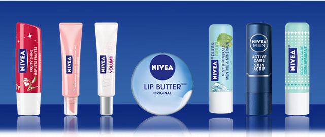 Nivea lip care coupon