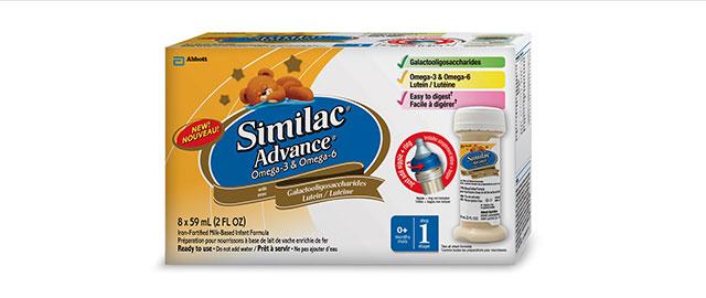 Similac Advance with Omega-3 & Omega-6 - Ready-to-use coupon