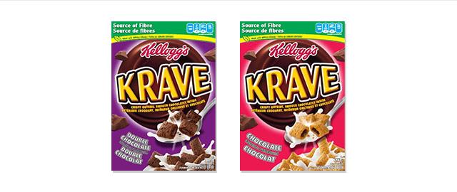 Kellogg's Krave* Cereal  coupon