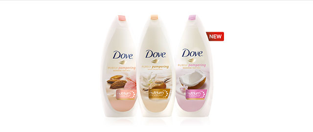 NEW Dove® Purely Pampering body wash coupon