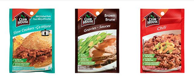 Any Club House recipe mix coupon