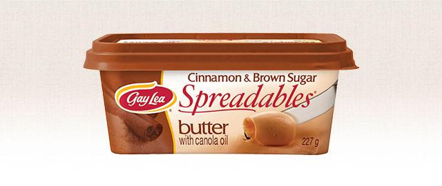 Gay Lea Cinnamon & Brown Sugar Spreadables coupon