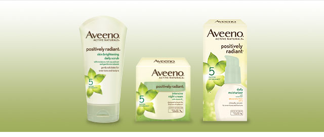 AVEENO® Facial Care Products coupon